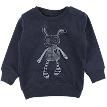 SMALL RAGS Sweatshirt med Rags