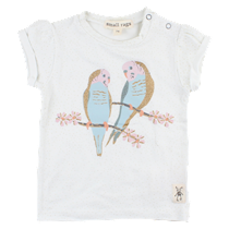 SMALL RAGS T-Shirt Med Fugle