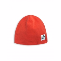 MINI RODINI basic beanie rød