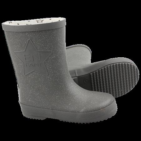 bd48a3750a5 EN FANT Gummistøvler Titanium - Super fede gummistøvler fra En Fant.  Gummistøvlerne er grå med