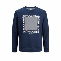 JACK & JONES Sweatshirt Larsen Navy
