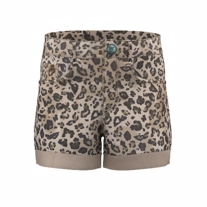 NAME IT Leopard Shorts Becky Silver Sage