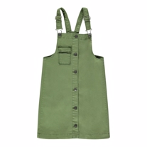 NAME IT Denim Smæk Kjole Twibaca Deep Green