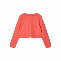 NAME IT Cropped Sweatshirt Tinturn Rose