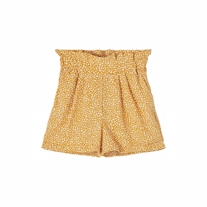 NAME IT Flæse Shorts Dera Spruce Yellow