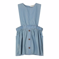 LIL ATELIER Skirt Kjole Ingrid Light Blue