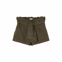 NAME IT Bindebånd Shorts Feefee Ivy Green