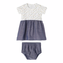 NAME IT Kjole & Bloomers Sæt Janice Bright White