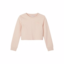 NAME IT Cropped Sweatshirt Tinturn Peach