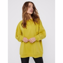 ONLY Oversized Sweatshirt Fave Oil Yellow